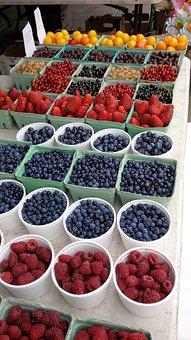 Berries, Fruit, Food, Healthy, Berry, Fresh, Strawberry