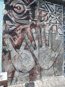 Berlin, Wall, East Side Gallery, Graffiti