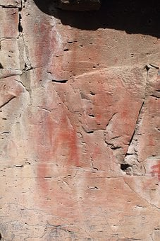 Pictograph, Rock Art, Drawing, Native American, Indian