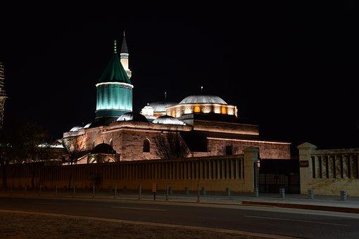 Architecture, Mevlevi, Konya, Mevlana Museum, Islam