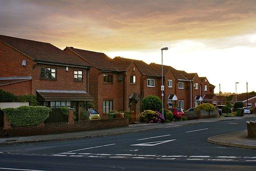 Houses, Street, Osiedle, Little Town, English Houses