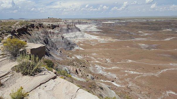 Painted Desert, Desert, Arizona Desert, Nature, Arizona