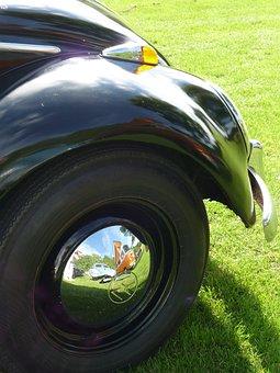 Pretzel Beetle, Vw Beetle, Wolkswagen, Rim, Chrome