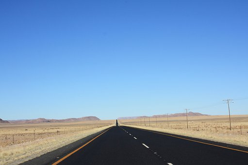 South Africa, Road, Holiday, Street Northern Cape