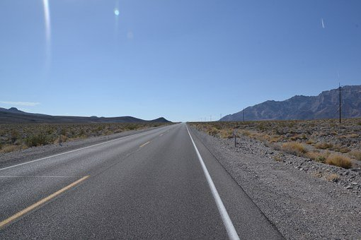 Road, Highway, Usa, Route 66, Asphalt, Route, Desert