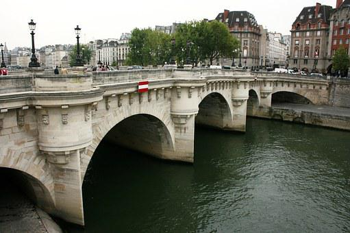 Pont Neuf, Sanchez, Paris, Bridge, Seine River