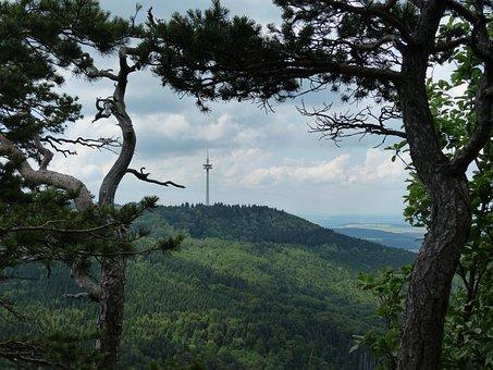 Viewpoint, Distant View, Sheep Mountain, Swabian Alb