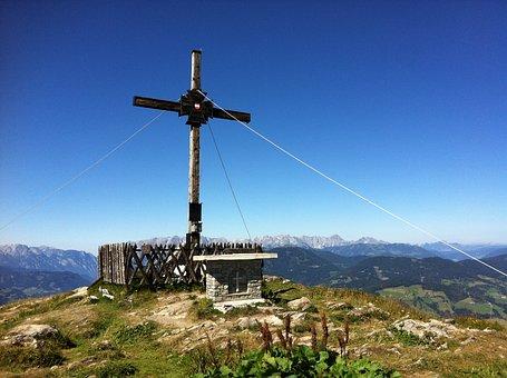 Mountain, Summit Cross, Sunday Kogel, Hike, Tour