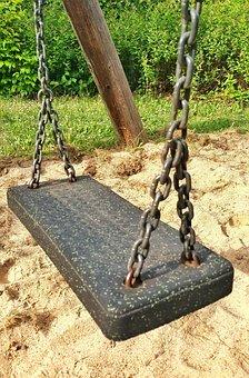 Swing, Playground, Play, Swing Device, Children