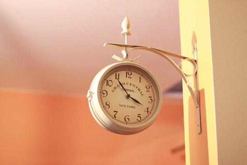 Clock, Wall, Time, Large Clock, Clock Shield, Hours