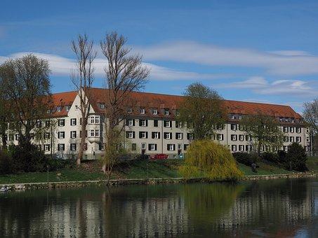 Building, Architecture, Bank Of The Danube, Gaenslaende
