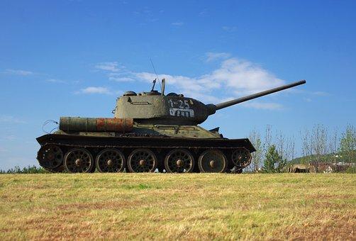 Tank, Army, Warfare, World War I, Fight, Russian Tank