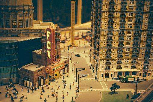 Lego, Legoland, Toys, Downtown, Atlanta, Fox Theatre