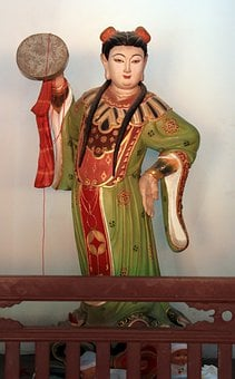 Chinese Sculpture, Gods, Chinese Tradition, Asian