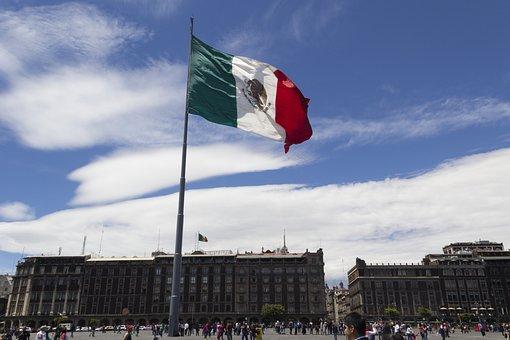 Flag, Socket, Mexico