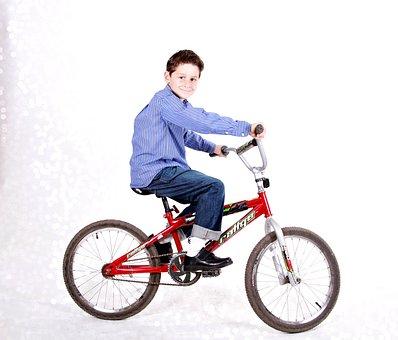Boy, Bicycle, Happy, Bike, Fun, Kid