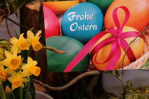 Easter Greeting, Happy Easter, Easter, Greeting Card