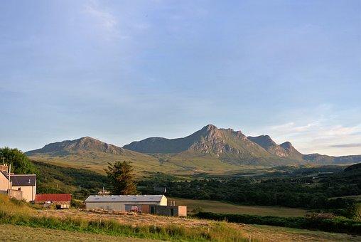 Mountain, Scotland, Highlands, Ben Loyal, Tounge