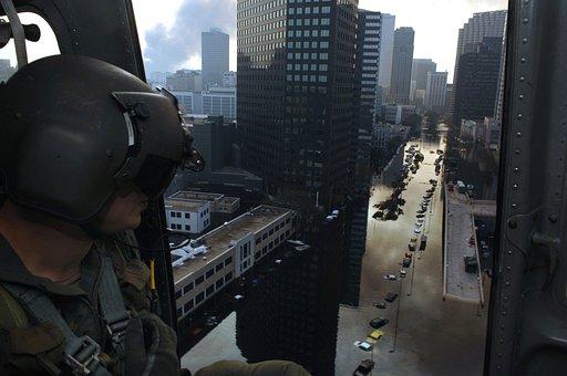 New Orleans, Louisiana, Hurricane Katrina, Flooded