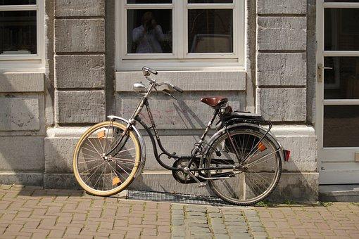Bike, Wheel, Lady's Bike, Women's Bicycle, Dutch