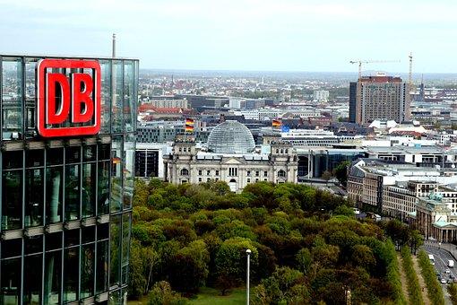 Deutsche Bahn, Logo, Lettering, Db