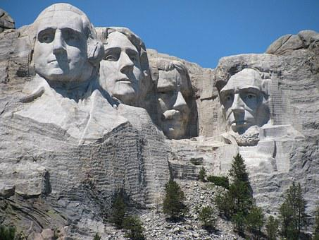 Mount Rushmore, Head Of Presidents, Custer Park, Usa
