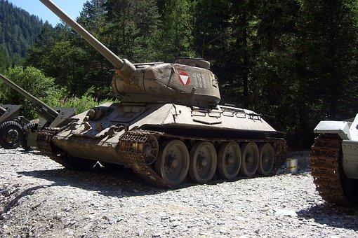 Panzer, Old, Obsolete, Crawler, Military