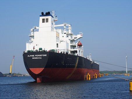Alpine, Persefone, Monrovia, Oil Tanker, Vessel