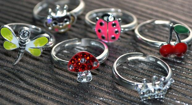 Sterling Silver, Rings, Jewelry, Silver, Crystal Rings