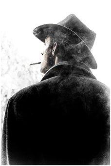 Man, Solitude, Lonely, Portrait, Cinema