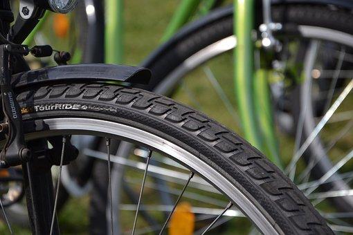 Tire, Bike, By Bike, Bicycles, Tyres, Tube, Inner Tubes