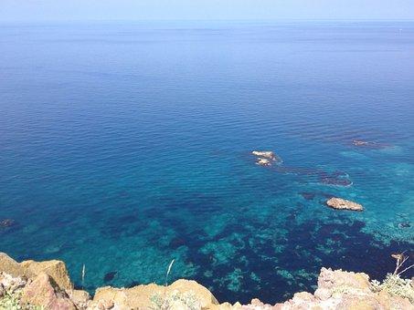 Sea, Emerald Green, Water, Underwater