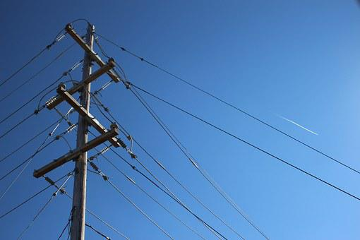 Power, Line, Electricity, Voltage, Power Lines