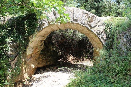 Aqueduct, Nimes, Antique, Rome, Vestige, Archaeology