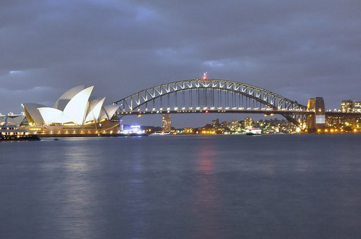 Sydney, Harbour Bridge, Opera House, Australia, Bridge