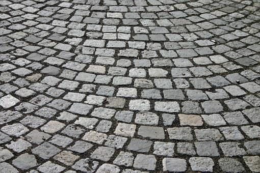 Cobblestones, Patch, Cobblestone, Away, Road