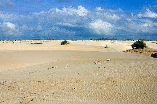 Desert, Sand, Boa Vista, Cape Verde, Cape Verde Island
