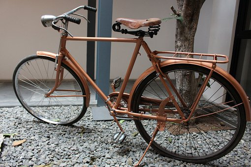 Vintage, Parts, Abstract, Bicycle, Bike, Cycle