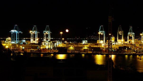 Algeciras, Gibraltar, National Holiday, Fireworks