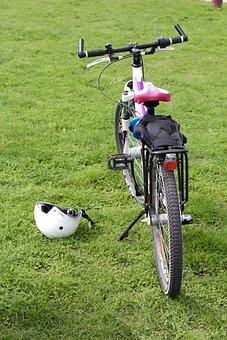 Bike, Wheel, Helm, Bicycle Helmet, Sport, Cycling