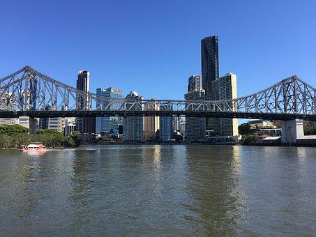 Story Bridge, In Brisbane River, Brisbane