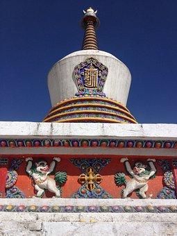 In Western China, In Qinghai Province, Kumbum Monastery