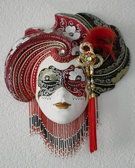 Venetian, Masks, Mask, Artists, Face, Dressed Up, Italy