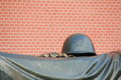 Grave, Soldier, Helm, Latest Honor, Moscow, Kremlin