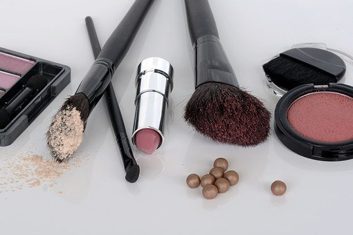 Cosmetics, Eye Shadow, Rouge, Brush, Lipstick, Make Up