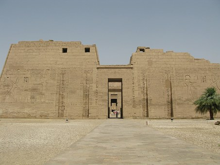Habu Temple Main Entrance, Luxor West Bank