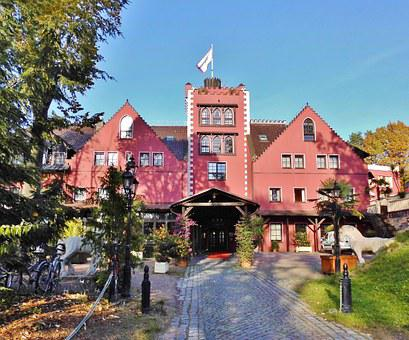 Hotel, Castle Hotel, Main Entrance, Middle Ages, Style