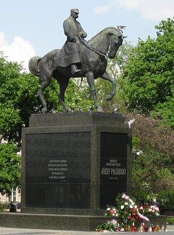 Lublin, Józef, Pilsudski, Monument, Marshal