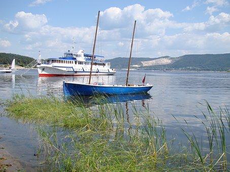 Yacht, Mast, Water, Parking, Marina, M V, Ladder, River