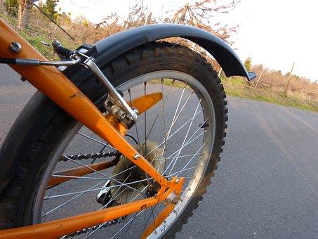 Bike, Mature, Wheel, Mountain Bike, Spokes, Close